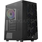 AeroCool Hive ARGB Window Black Edition
