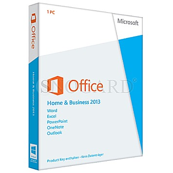 Microsoft office home and business 2013 medialess bei - Windows office home and business 2013 ...