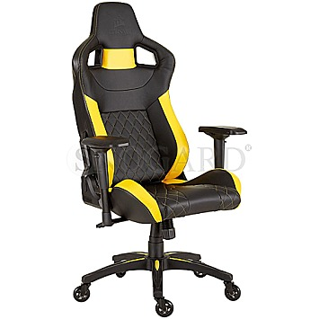 Corsair T1 Race Gaming Chair 2018 Schwarz Gelb Bei
